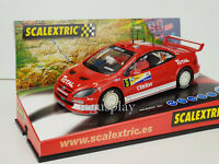 Slot Car Scx Scalextric Peugeot 307 2º Rally Benéfico Von Scalextric Signiert''