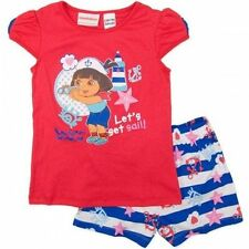 Dora the Explorer Pyjama Sets for Girls