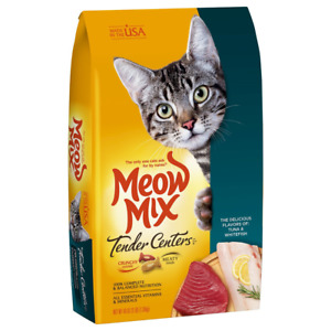Meow Mix Tender Centers, 3-Pound, Tuna & Whitefish