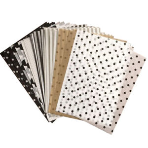 A5 Wrapping Papers Retro Multicolor Prints Tissue Paper Bookmark Gift Packaging