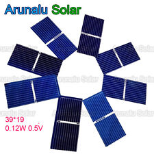20pcs 39x19 mm Solar Cell Battery Charger Poly Solar Mini Panel Car Cat Toys DIY