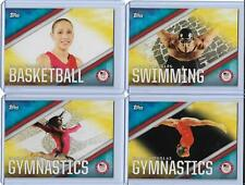 2016 TOPPS OLYMPIC DISCIPLINES COMPLETE SET 25 CARDS ~ PHELPS ~ BILES ~ TAURASI
