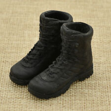 Mini 1/6 Scale Tactical BOOTS Black Figure Body Furniture Accessories Toy 1 PC