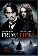 From Hell (DVD, 2002, Widescreen) Bilingual FREE SHIPPING IN CANADA