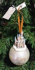 Walt Disney World Parks Cinderella Castle Most Magical Place On Earth Ornament