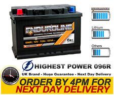 096R Enduroline Extra Heavy Duty Car Battery fits many Chrysler Jeep Nissan Vaux