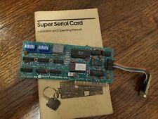 APPLE II - SUPER SERIAL CARD II #670-8020 (820-670-0046-B)