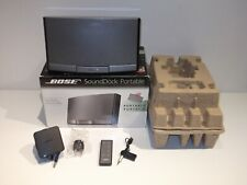 Bose SoundDock Portable Digital Music System with Rechargeable Battery Bluetooth