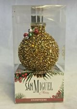 San Miguel Holiday Champagne Scented Oil Decorative Diffuser Set Chirstmas NIB