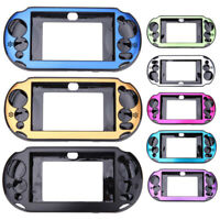 Aluminium metal skin protective hard case cover shell for PS vita psv 2000 YH