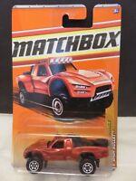2010 Matchbox Desert Endurance Baja Bullet 84/100 Red Die-Cast Metal RL#90