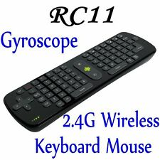 Measy RC11 Air Smart Mouse Keyboard Combo Wireless Gyroscope