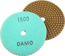 "5"" Wet Diamond Polishing Pad Grit 1500 for Granite/Concrete/Marble Countertop"
