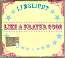 Limelight Like a Prayer 2002 Madonna CDsingle NUOVO SIGILLATO ORIGINALE 3 Tracks