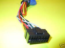 Sony Car Stereo Wire Audio Wiring Harness Plug 16 Pin