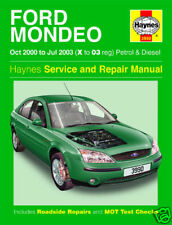 Haynes Manual Ford Mondeo 2000-2003 Petrol+Diesel 3990