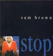 "Sam Brown(Poster Sleeve 7"" Vinyl P/S)Stop-A&M-AM 440-UK-1988-VG/NM"