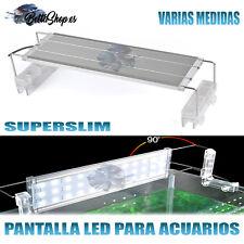 42W Pantalla Superslim de LED para Acuarios de 100 a 120cm - Plata
