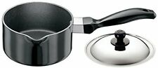 Futura Non-Stick Sauce Pan 1.0 Litre with Steel Lid and Pouring Spout