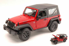 Jeep Wrangler 2014 Red 1:18 Model MAISTO