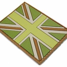 PVC Rubber Union Jack Flag Military Army Tactical Flag Patch Badge MTP Colours