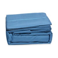 Lexington by Lush Home 2800 Series- Blue 6pc Microfiber Sheet Set (King)