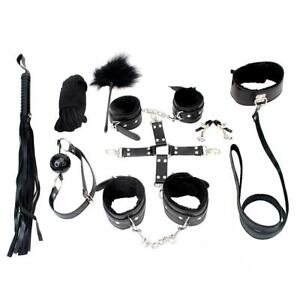 Utimi Bondage Sex Toys Cuffs Whip Rope Ball Gag Nipple Clamps 50 Shades of Grey