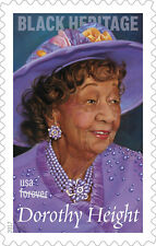 US 5171 Black Heritage Dorothy Height forever sheet-20 stamps-MNH 2017 free ship