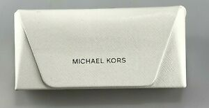 Michael Kors Case Only Faux Leather Textured White Soft Case
