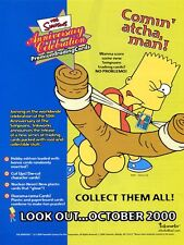 SIMPSONS 10TH ANNIVERSARY TRADING CARDS SELL SHEET SALES SHEET BART SIMPSON