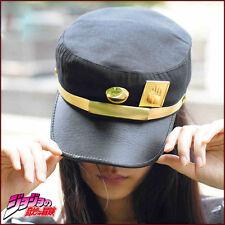 Anime Visor Cap JOJO Bizarre Adventure Jotaro Kujou Cosplay Army Military Hat