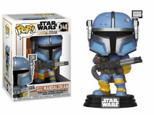 "STAR WARS THE MANDALORIAN HEAVY INFANTRY 3.75"" POP VINYL FIGURE FUNKO 348"