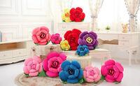 3D Rose Flower Pillow Plush Car Sofa Cushion Home Decor Valentine's Day Gift Hot