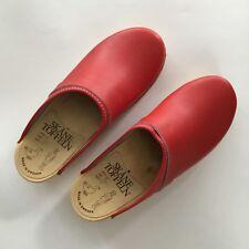 Swedish Clogs Red size  36 EU Medium Width Size 6 US