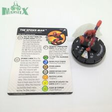 Heroclix Superior Foes of Spider-Man set The Spider-Man #066 Chase figure w/card