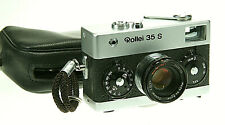 Rollei 35 S mit Sonnar 2,8/40mm  #2233125     ! Beli funktioniert !
