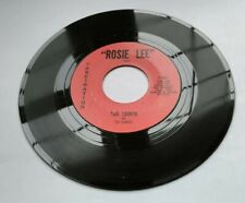 Paul London 45 - Rosie Lee / Real Gone Lover - Fascination F-1007 Strong VG+