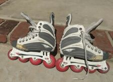 Mission Helium 5500 Quatro Roller Hockey In-line Skates Youth Size 2D
