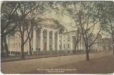 ca.1910 postcard- Woman's College, East Church Street, Frederick, Maryland