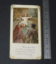 CHROMO 1920-1929 IMAGE PIEUSE CATHOLICISM HOLY CARD RELIGION JESUS CHRIST