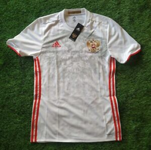 RUSSIA  NEW PLAYER ISSUE ADIZERO 2016/2017 AWAY SIZE HOME FOOTBALL SHIRT JERSEY