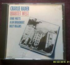 CHARLIE HADEN QUARTET WEST JAZZ CD