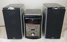 LG Micro Hi-Fi Mini Component System LFU850 With Speakers CD/ AUX/ MP3/ EQ