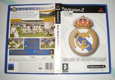 Real Madrid Club Football Temporada 2003-2004 - PAL España - Completo - PS2