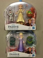 ❄️❄️New 2019 Disney Lot of 2! Frozen II Elsa and Trolls & Anna and Olaf❄️❄️