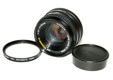 Minolta MD Rokkor-X 50mm f/1.7 Prime Pancake Lens MD Mount - Good Shape - Japan