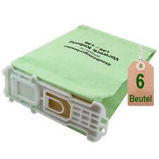 6 x Staubsaugerbeutel Filtertüten geeignet für Vorwerk Kobold VK 135 + 136