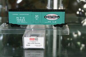 N Scale Micro Trains 32250 New York Central RR 50' Box Car.