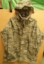 GENUINE US ARMY/AIRFORCE ISSUE WATERPROOF RAINSUIT PARKA UTILITY PATTERN -SIZE M