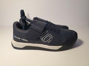 Five Ten Mens Hellcat Pro Bike Shoes Navy Blue BC0682 Men's size 6